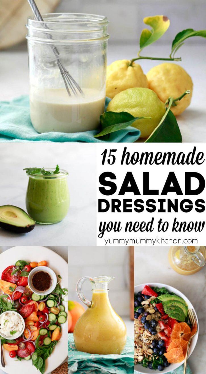 Healthy vegan salad dressing recipes!