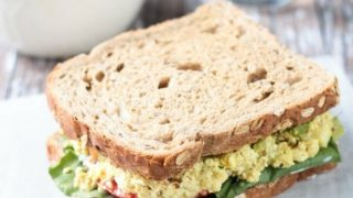 Curried Tofu Salad (Vegan, Gluten Free)