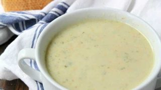 Cream of Brussels Sprout Soup Recipe